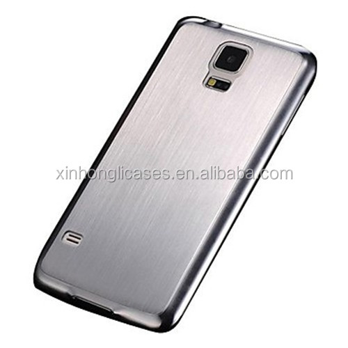 Brushed Aluminum Hard Case for Samsung Galaxy S5 I9600, For Samsung Galaxy S5 I9600 Hard Case