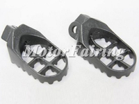 Motorcycle Accessories Footrest For Kawasaki KLX 400 Suzuki DRZ400 RM125/250 Foot Pegs Black Colors MT216-021