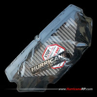 Hurricane Stainless Steel Air Filter Kawasaki Ninja 650 EX650R 650R ER-6N ER-6F 2012- Direct Replacement Air Intake