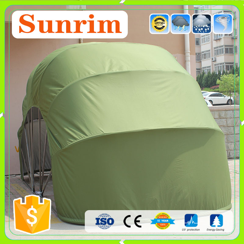 Oxford cloth material portable car cover