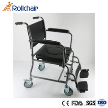 High Quality Modern Steel Commode Wheel Chair With KD design