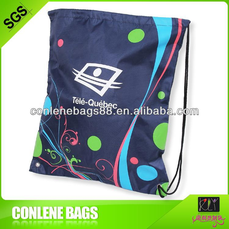 nylon drawstring bag, cute drawstring backpack bag
