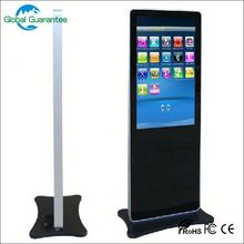 Floor standing digital signage double sides led playe with global guarantee