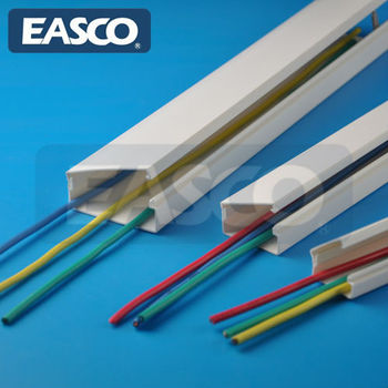 One Piece Wire Duct Featured Hinged Cover Raceway By EASCO