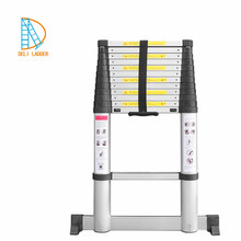 en131-6 standard SOFT CLOSING new design aluminum telescopic super ladder