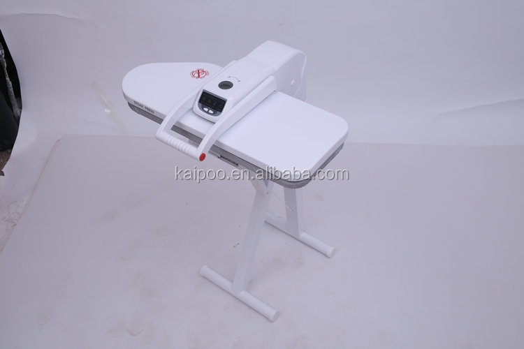 Digital fabric steam press iron with stand