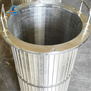 Reverse Rolled Water Well Screen Wedge Wire Screen Tube