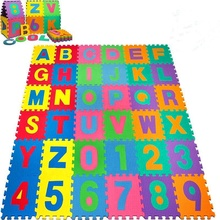 2019 Soft Foam Alphabet Baby EVA Puzzle Mat - 26 Letter and 10 numbers Set