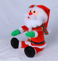 swing body and moving head and hands santa clause