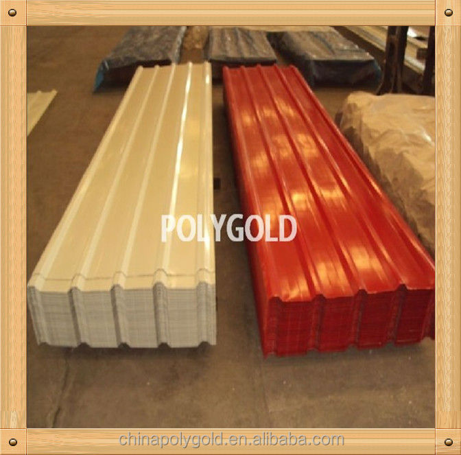 Wave Steel Roof Tile With Color Coating