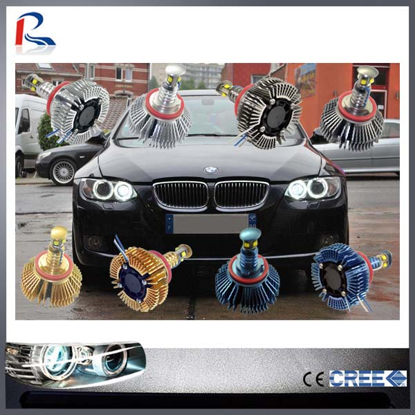 CE ROHS Certification and Headlight Type Led marker angel eyes 20w H8 for BMW E92,60,82,90,93,84,70,71