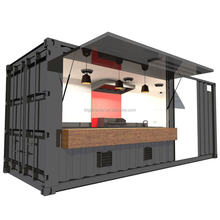 New Design Mobile Prefabricated Shipping Container Coffee Shop