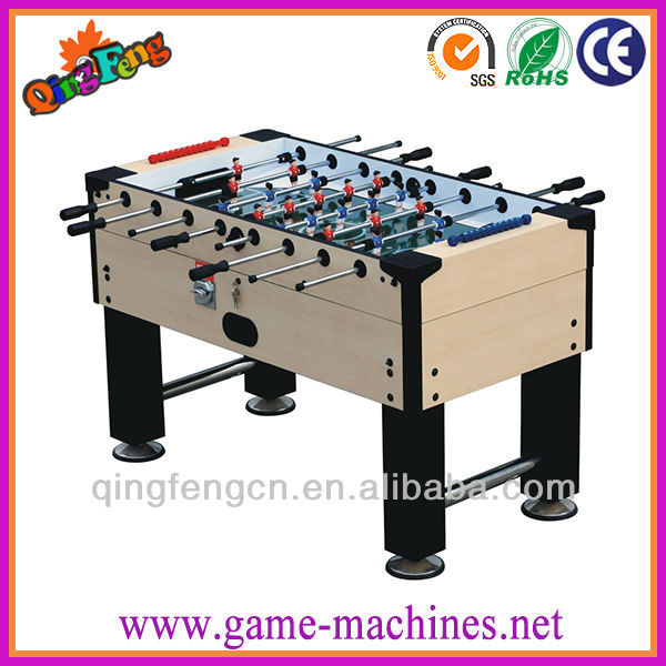 Qingfeng amusement professional soccer 5 in 1 multi game table