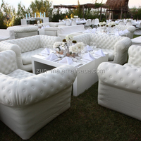 Commercial Grade Plastic Inflatable Sectional Sofa