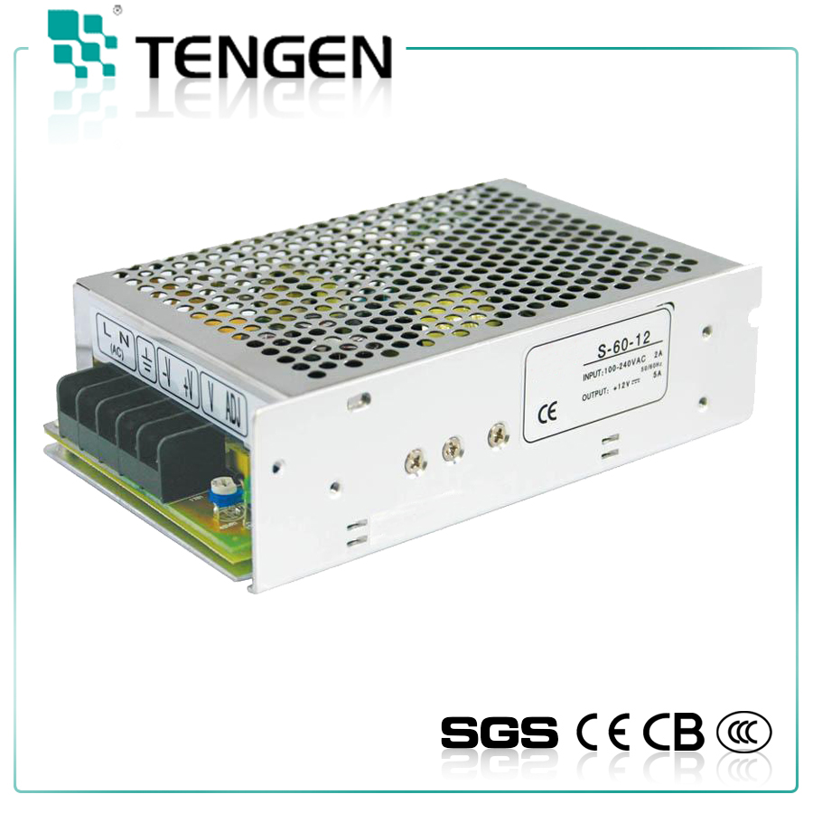 S-60-12 12V Industrial switching mode Power Supply