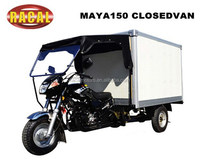 MAYA150 CLOSEDVAN Preiswert motorcycle with cabin,best sale air wheel three wheel scooter,three wheeler for sale 10% discount