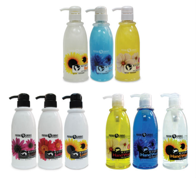 Perfume Generics Wonder Range (Bath Gel) (Lotion) (Hand wash)