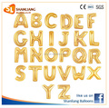 16 Inch Gold Letter Foil balloon, A-Z, for Party Decoration, Wedding, Anniversary