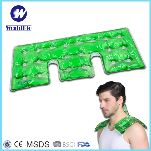 PVC sodium acetate reusable click self heating pads for neck & shoulder
