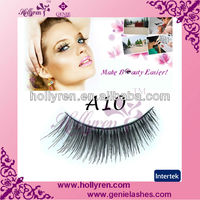 World Beauty Best Sold Hand-tied Strip False Eyelash