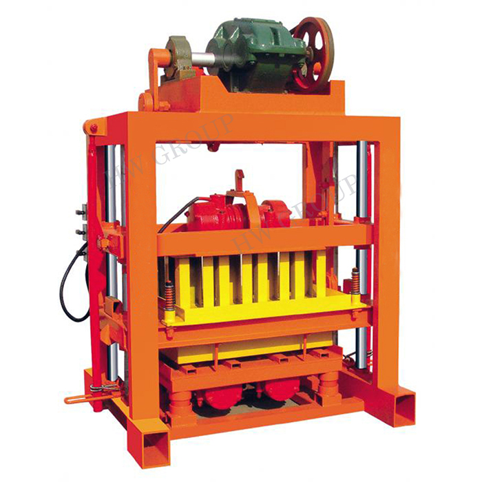 experienced cement manual paving block making machines, semi-automatic concrete block machine