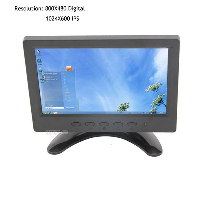 Car Monitor Touch Monitor/4-Wire Resistive Touch screen LED backlight wide viewing angles