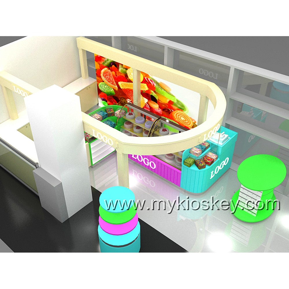Mordern candy world design interior furniture for candy store