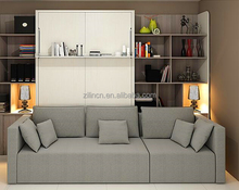Modern transformable custom made murphy bed mechanism sofa wall bed