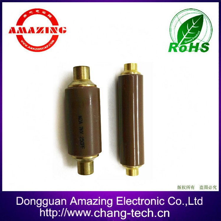 24KV 150PF High withstand voltage Low dissipation ceramic welding capacitor