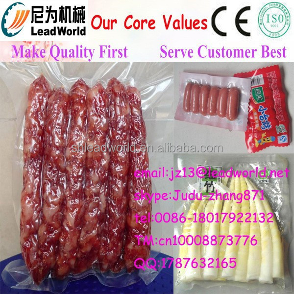 new design plastic film package vacuum packing machine