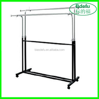Customized Movable Clothes Display Rack