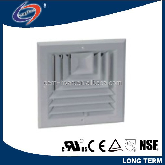 DAMPER CEILING DIFFUSER/CURVED BLADE CEILING DIFFUSERS(HVAC)