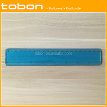 Popular 20cm PVC flexible ruler 8 inch soft ruler, flexible plastic ruler