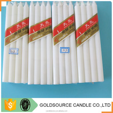 China factory price paraffin wax white stick household candle