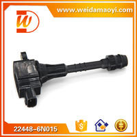 High quality professional design auto ignition coil OEM 22448-6N015 For NISSAN