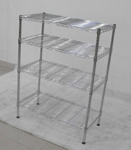 12 Years Professional Manufacture NSF Approved Kithen Chrome Wire Mesh Shelving