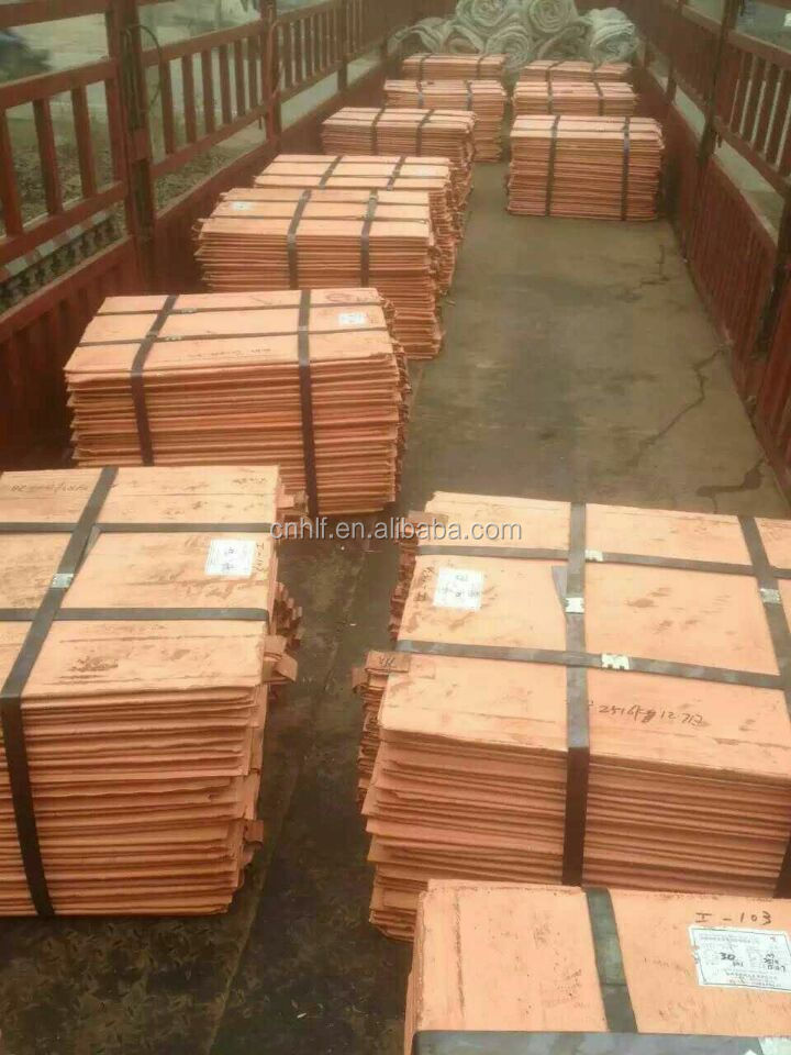 Copper Cathode ,Copper Sheet 99.9%, 99.99% , (electrolytic grade A) best quality