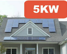 Cheap price complete unit 5kw off grid SOLAR ENERGY system