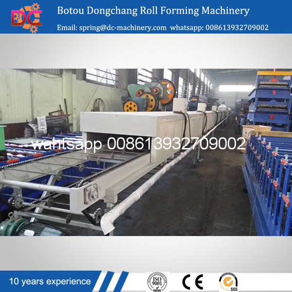 Dongchang colorful stone-coated metal roof tile making machine