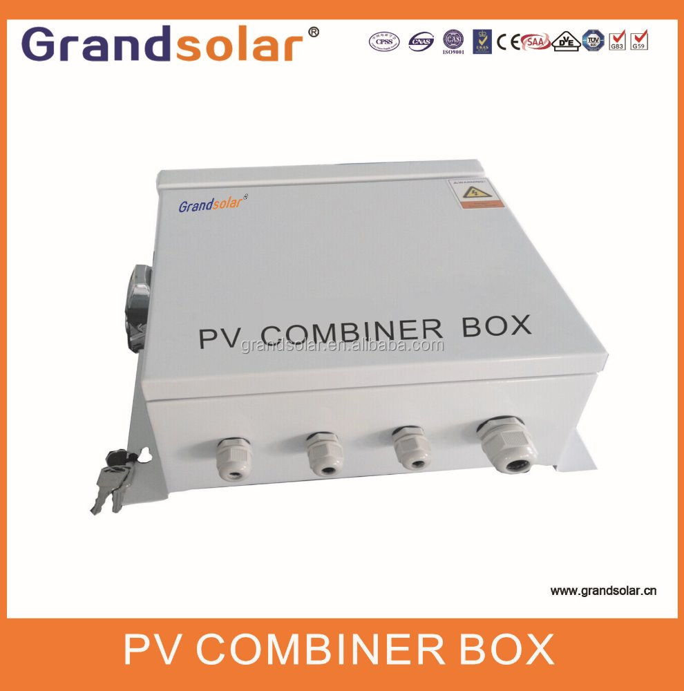GRANDSOLAR 1 IN 1 OUT SOLAR PV PANEL POWER SYSTEM PV ARRAY COMBINER BOX