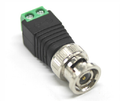 Hot sale bnc connector green type cctv