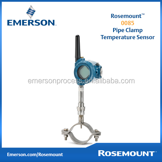 Emerson Rosemount 0085 Pipe Clamp pt100 temperature sensor