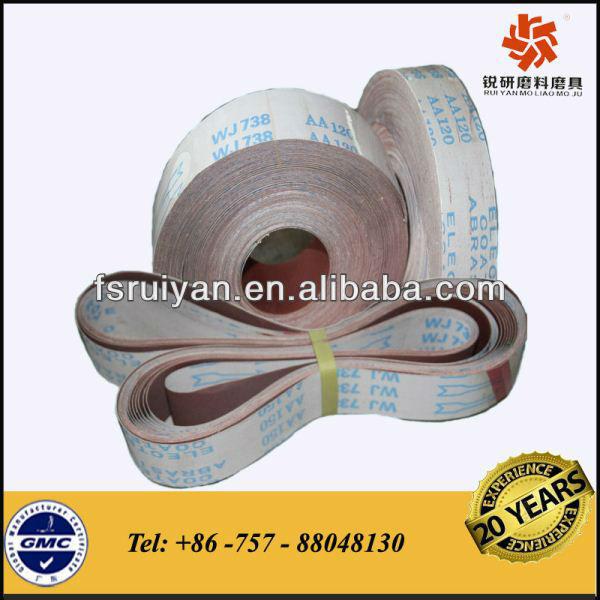 Abrasive Fabric Rolls for Machine Sand Belt Use
