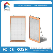 High-durable transparent indoor glass window led display screen for show cases