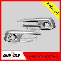Car Exterior Accessories front fog light cover 2pcs/set head fog Lamp cover opened Mould by SHENJIAN factory auto parts