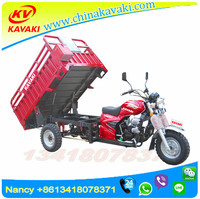 High Quality Gasoline Motorized New Cheap Popular Cargo 150CC Three Wheel Gas Scooter