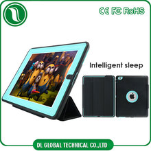 Top selling products in alibaba flip pu cover 4 in 1 intelligent sleep cover for ipad mini 4 case