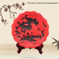 Wholesale tianshui Handmade crafts lacquerware
