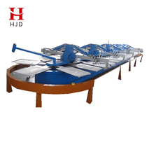Touch Screen Computer Controlled Oval Screen Printing Machine