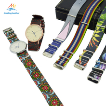 Custom printed watch strap watch band with high quality stitching